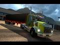 CURVAS COLOMBIANAS!!! | EURO TRUCK SIMULATOR 2 | KENWORTH T800 | MAPA DE COLOMBIA