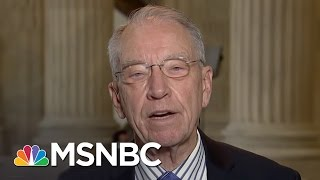 Senator Chuck Grassley: Democrats 'Can't Lay a Glove' On Neil Gorsuch   For The Record   MSNBC
