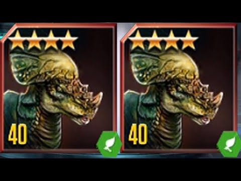 PACHYCEPHALOSAURUS  LEVEL 40 - Jurassic World The Game