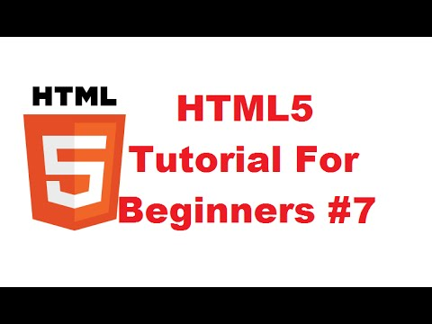 HTML5 Tutorial For Beginners 7 #  HTML Link Tag