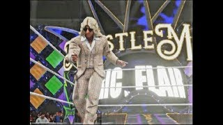 WWE 2K19 : New gameplay ft (Rey mysterio, Ric flair & more) & WM 34 arena first look