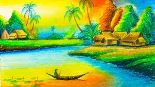 Gambar cover How to Draw Beautiful Nature Scenery Drawing step by step | Drawing Buzz