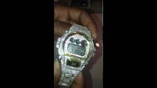 Iced Out Diamond G Shock Watch | Breanthonys.com