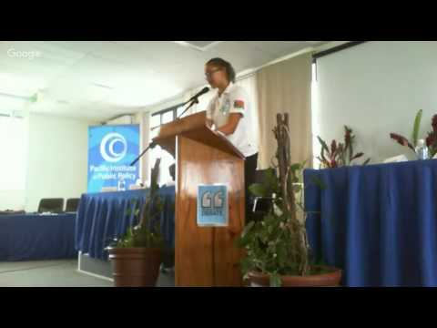 MELANESIAN SCHOOL DEBATE - 25TH NOVEMBER 2015