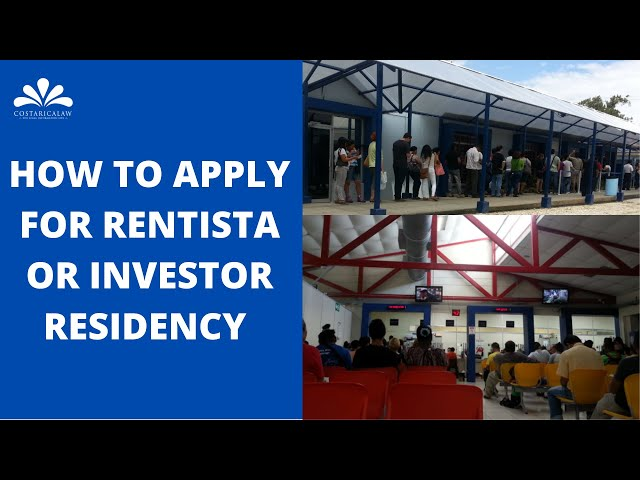 How to Apply for Rentista or Investor Residency