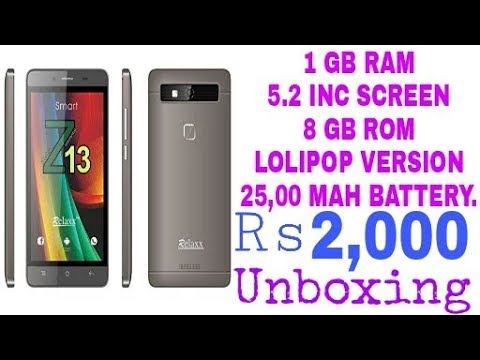 Best Android Mobile In 2,000 |  Unboxing | Review | Amazon |