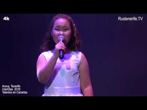 Talentos en Canarias 2016. Aidana Kokkozova. 2 premio.
