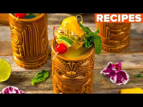 Get Tiki with It!: 3 Island Inspired Drink Recipes
