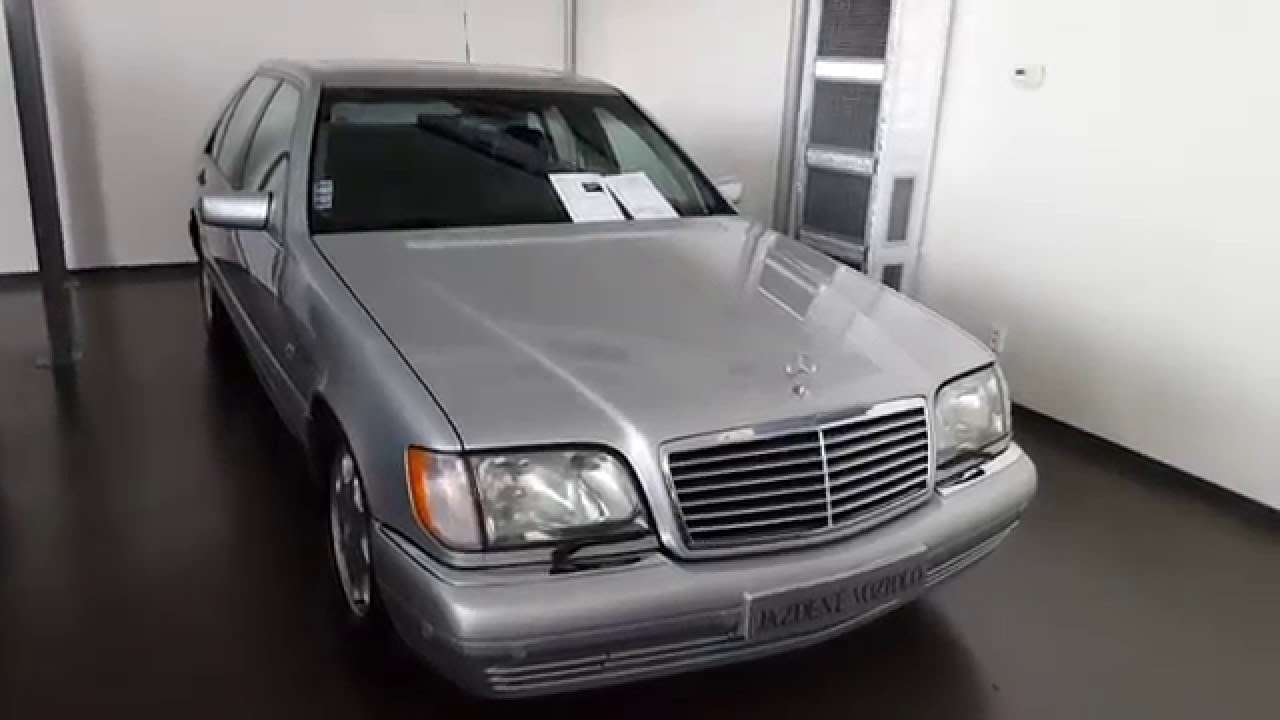 For Sale Mercedes Benz S Class W140 300td 1998 At