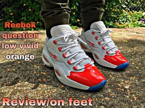 Reebok Question Low Vivid Orange review
