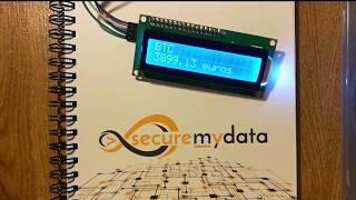 Suivre le cours du Bitcoin avec un écran LCD + Raspberry