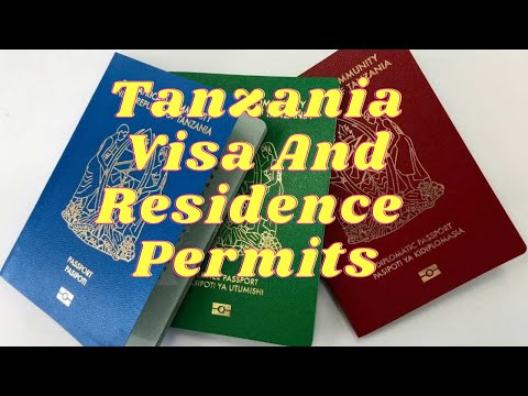 Tanzania Business Visa And Residence Permit Explained | A Detailed Explanation (East Africa)