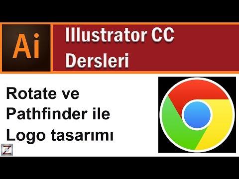 Illustrator  Logo Yapımı Google Chrome Logosu Tasarımı Nasıl Yapılır, Ders 3.4