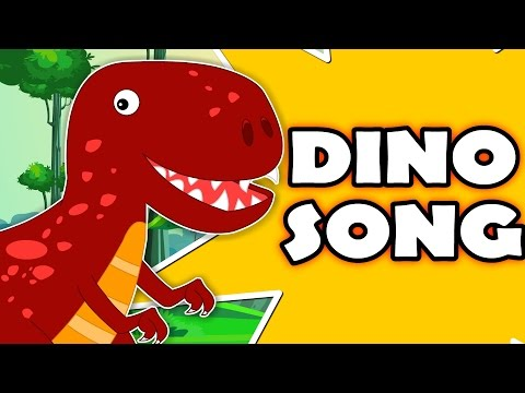 Dinosaur Song Original Nursery Rhymes For Kids Songs For Childrens And baby kids tv S02 EP026