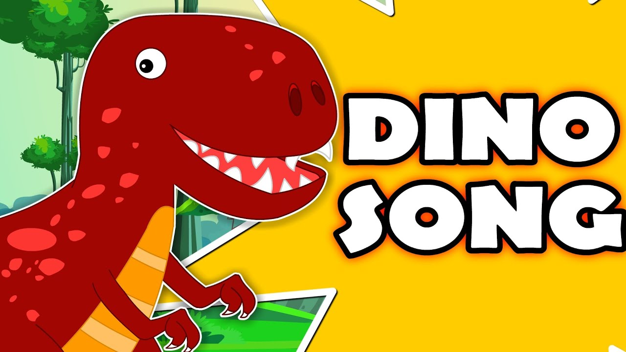 Dinosaur Song Original Nursery Rhymes For Kids Cartoon