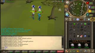 Digq - 450m+ loot- High risk - Chaotic staff/Turmoil/60 attack/Rune pure - Pk vid 12