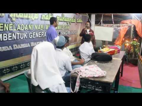 """drama PDB """"Aku Anak Sekolah Bodo"""" Maulid 2015. Sasak Lombok Masbagik Timur"""