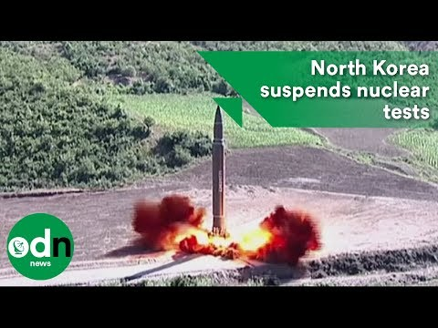 North Korea suspends nuclear tests