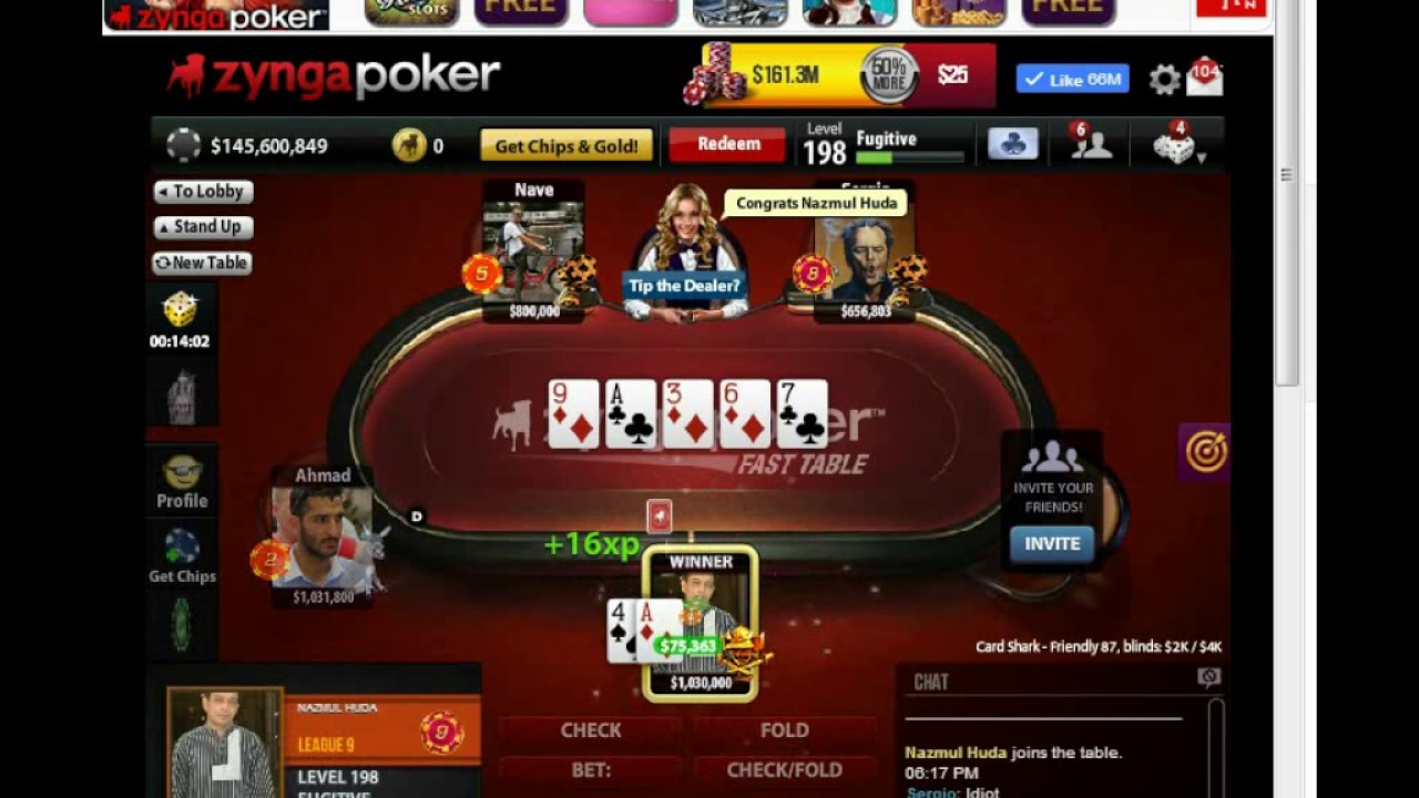 Zynga poker vip club best poker player nicknames