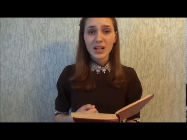 Изображение предпросмотра прочтения – МарияЭсаулова читает произведение «Баллада о матери» О.Н.Киевской