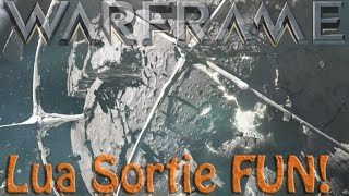 Warframe - Lua Sortie Defense -=FUN!!=-