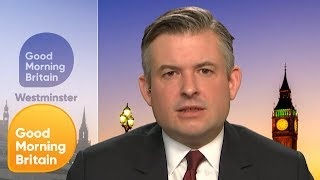 Shadow Health Secretary Jonathan Ashworth MP talks to GMB about the...