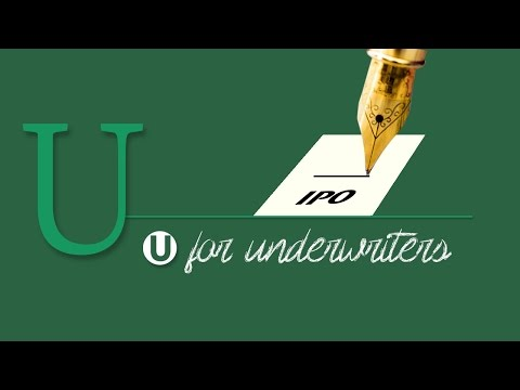 A-Z of Stock Markets: Underwriters