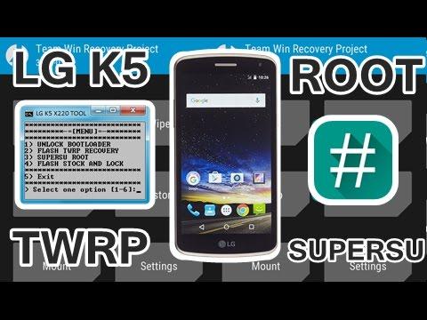 Получаем root LG K5 X220ds