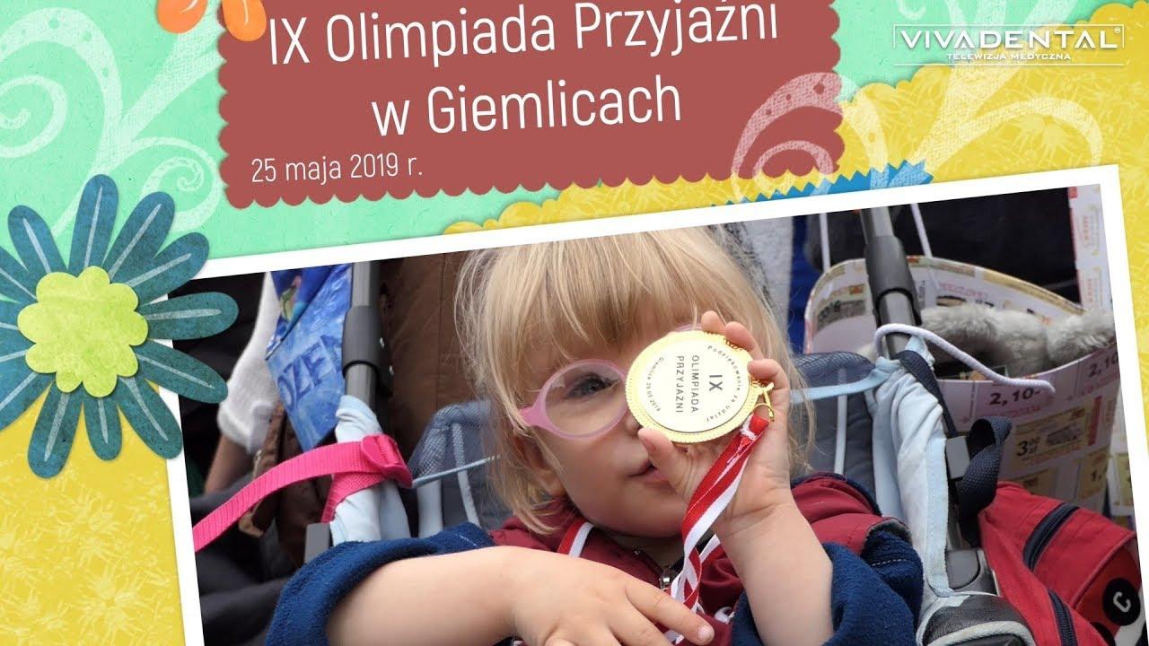 Fundacja dla Dzieci Vivadental na Olimpiadzie Przyjaźni - Giemlice 2019