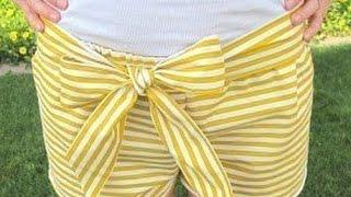 Как сшить шорты своими руками(Время сэкономить по-крупному! http://vid.io/xoDA Скидки в топовых магазинах! Повышенный кэшбэк! Призы на 1 000 000 рубле..., 2015-05-18T19:56:41.000Z)