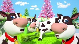 Old MacDonald | Nursery Rhymes Songs For Children | Kindergarten Cartoon For Kids | Little Treehouse