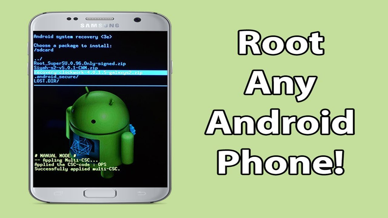 Root Android Without Computer Easily! (2017) | Root Any Android Phone  Without PC