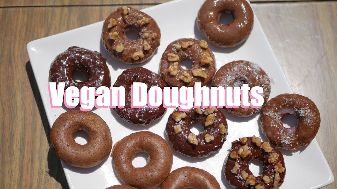 Vegan Donut Recipe, How to make Vegan Donuts