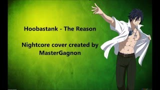 Ty Nightcore - The Reason (Hoobastank) [Lyric Video]