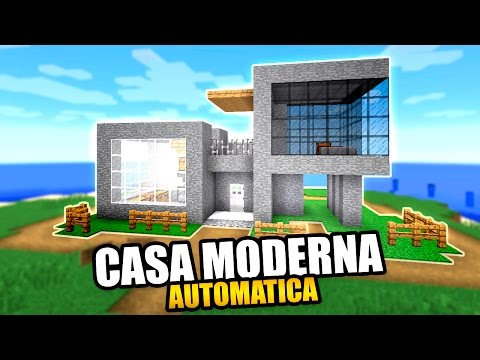 Casa moderna minecraft map how to save money and do it for Casa moderna y automatica en minecraft