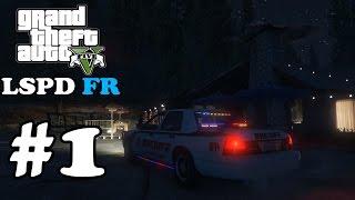 GTA 5 LSPDFR #1 - Первый день в полиции (Полицейский мод)
