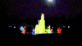 Coloured Musical Fountain Show(Part-1)at Ajwa Garden,Vadodra,Gujarat,India.