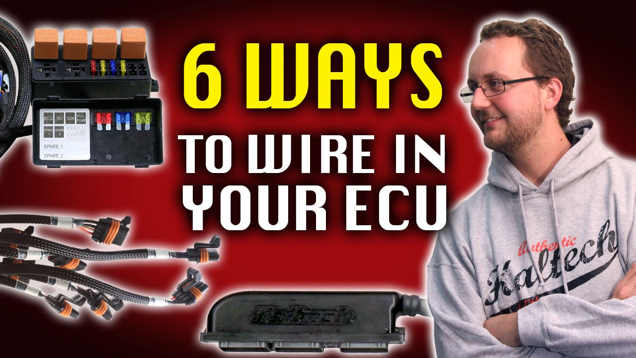 Haltech E11v2 Wiring Diagram 1987 Toyota Truck 6 Ways To Wire In Your Ecu Technically Speaking Youtube
