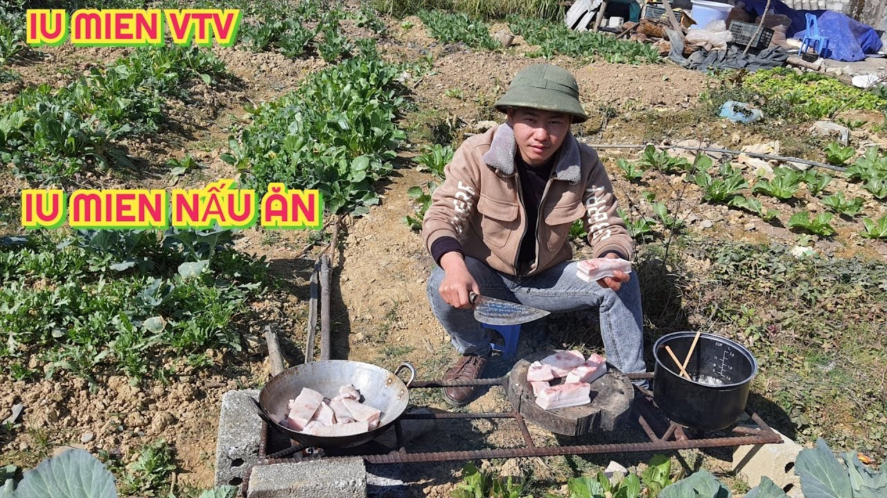 Iu Mien | Dán Thịt Lấy Mỡ ( Fat Stickers ) | Iu Mien VTV