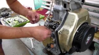 Изменение момента впрыска топлива дизельного двигателя мотоблока