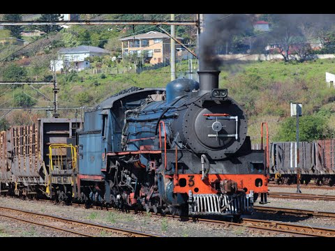The final days of working steam in South Africa - SAPPI SAICCOR