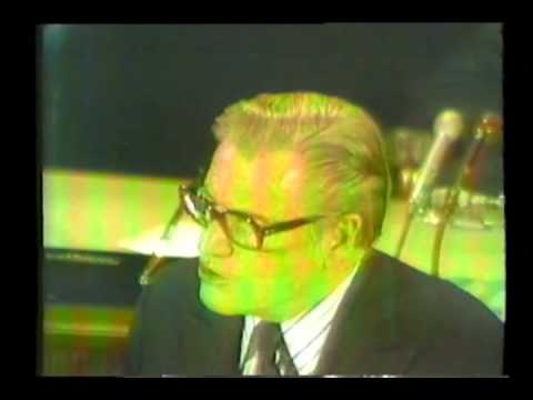 Nelson Rockefeller swearing in ceremony as the 41st Vice President