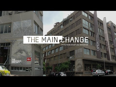 Industrial Chic Style offices in The Maboneng Precinct Johannesburg SA