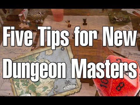 Five Tips For New Dungeon Masters