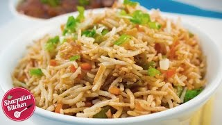 Restaurant Style Vegetable Fried Rice - Easy Indo - Chinese Fried Rice Recipe - Sharmilazkitchen 🍚
