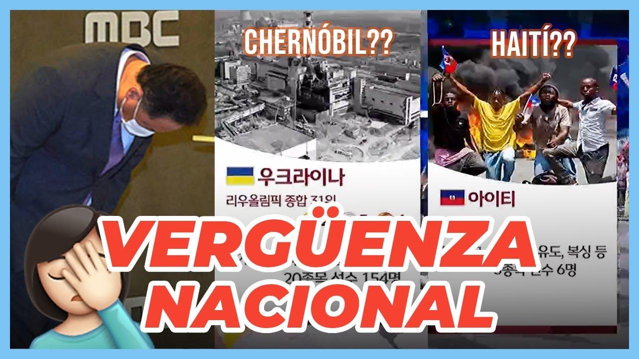 Download PAPELÓN en la TV COREANA en los JUEGOS OLÍMPICOS 😳 ¿Cómo MBC describió a los países LATINOS?