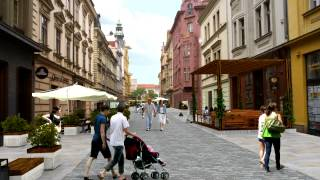Projekt oživení centrální oblasti města Plzně - animace