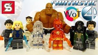 Китайские минифигурки Лего Фантастическая Четверка SY288