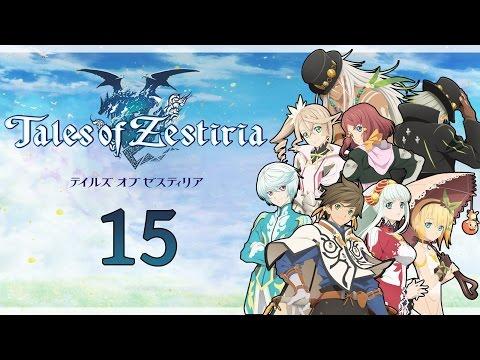 Let's Play Tales of Zestiria [New Game+] - #15 - Flucht aus dem Schloss