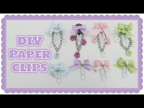 DIY  Paper Clips  - Craft update #3